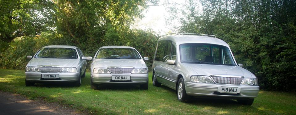 Fleet of Silver Cars